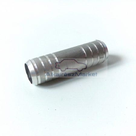 Alumínium csőtoldó Ø14