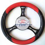 Kormányvédő fekete-piros  35cm-37cm